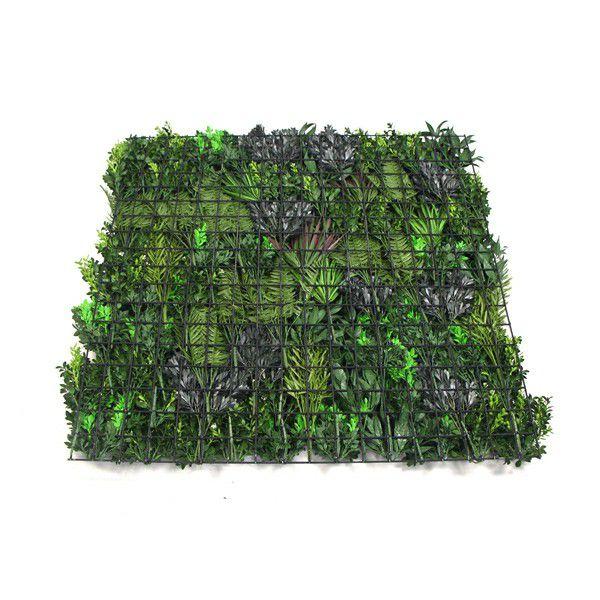 back of fake plant wall panels