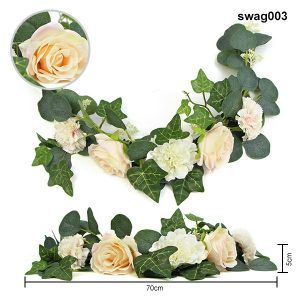 beautiful floral swags for wedding