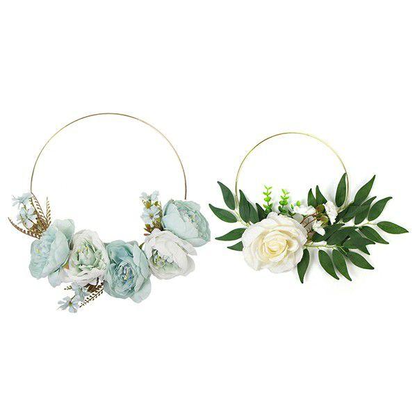 decorative wreaths details