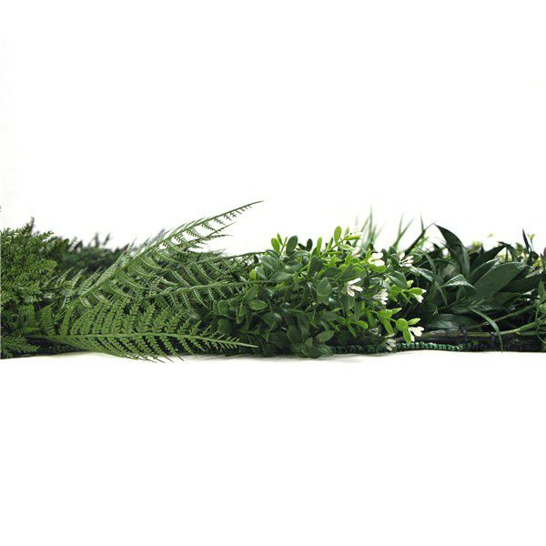 details of artificial wall plants