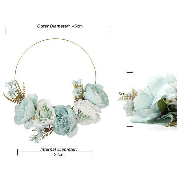 details of plant wreath