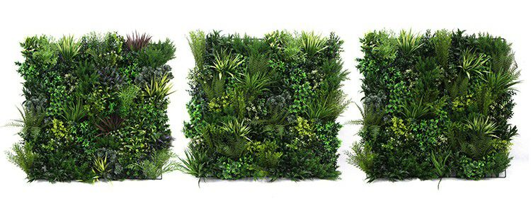 different combination of Fake Plant Wall Panels~1