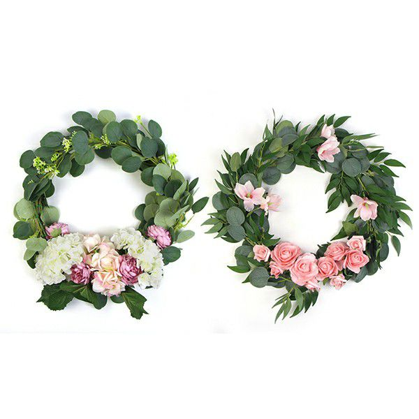 door flower wreaths collection