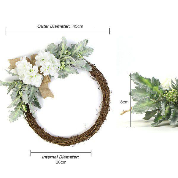 fake plants wreath