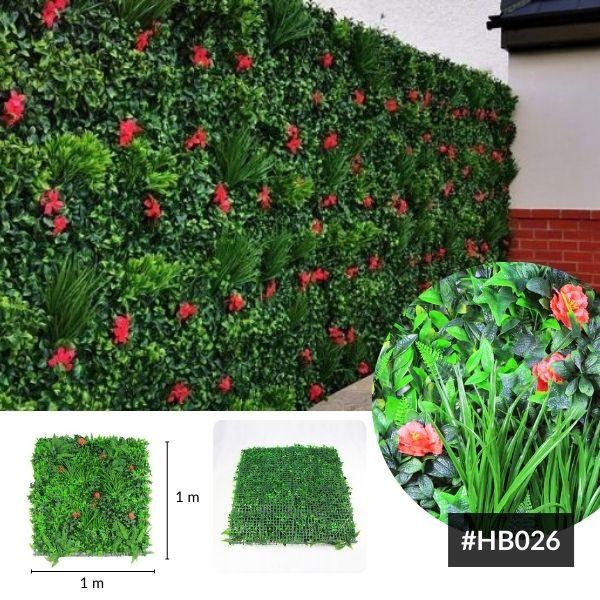 faux leaf walls HB026