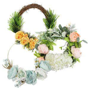 faux silk-made wreaths