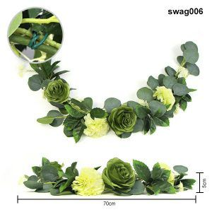 floral swags for decorations