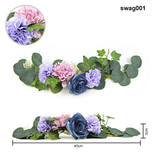 floral swags used for home decor