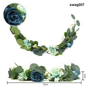 home decor artificial floral swags