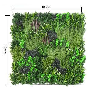 size of Fake Plant Wall Panels