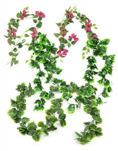 sunwing artificial flower or leaves garlands for decor