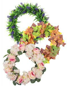 sunwing artificial wreaths for wholesale