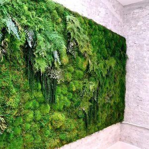 artificial Moss wall supplier