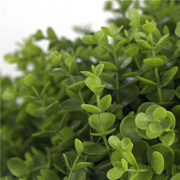 artificial boxwood leaves