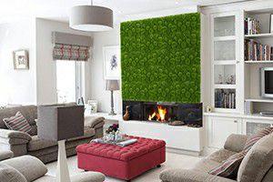 artificial moss interior decoration