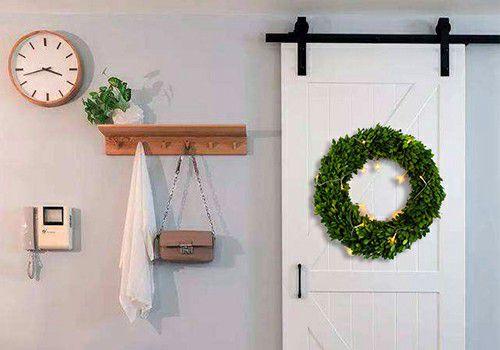 preserved wreath decor
