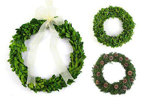 preserved wreath series