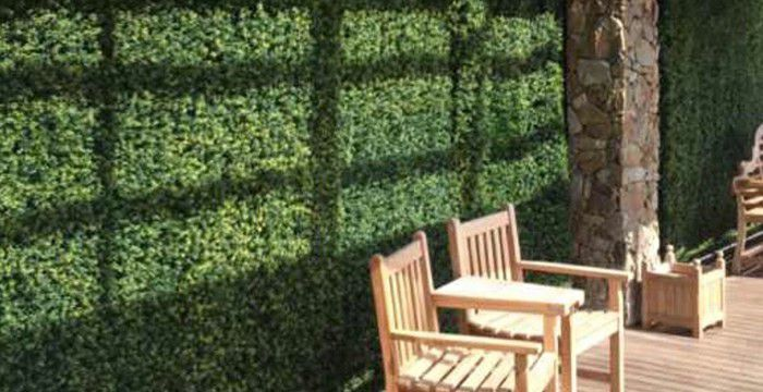 Make the Facade Stunning with DIY Faux Green Walls