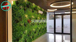 Sunwing Indoor Safe Fake Plants Wall