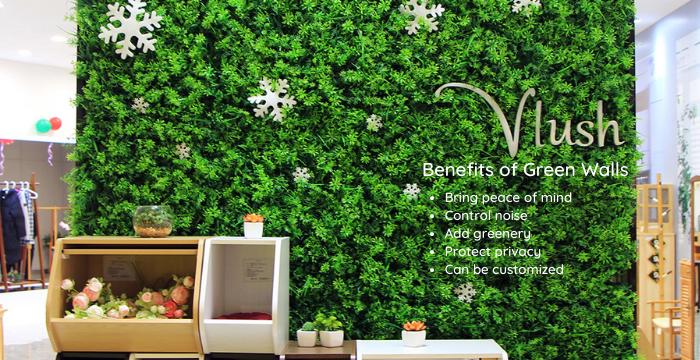 benefits of green walls