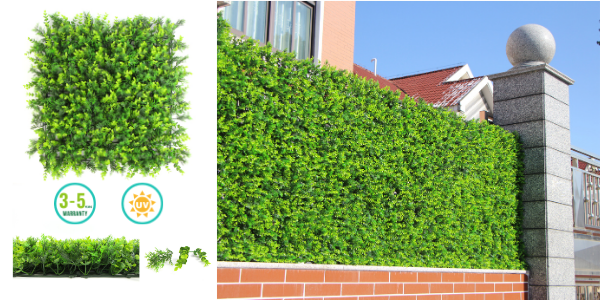 Sunwing artificial outdoor hedge wall A127