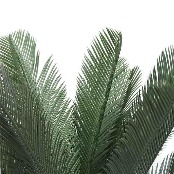 fake cycad leaves detail