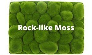 sunwing artificial moss rock like for wall mounted