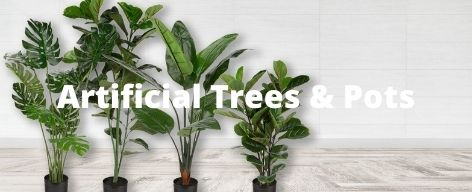 sunwing artificial trees & pots