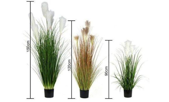 various-size-of-artificial-pampas-grass