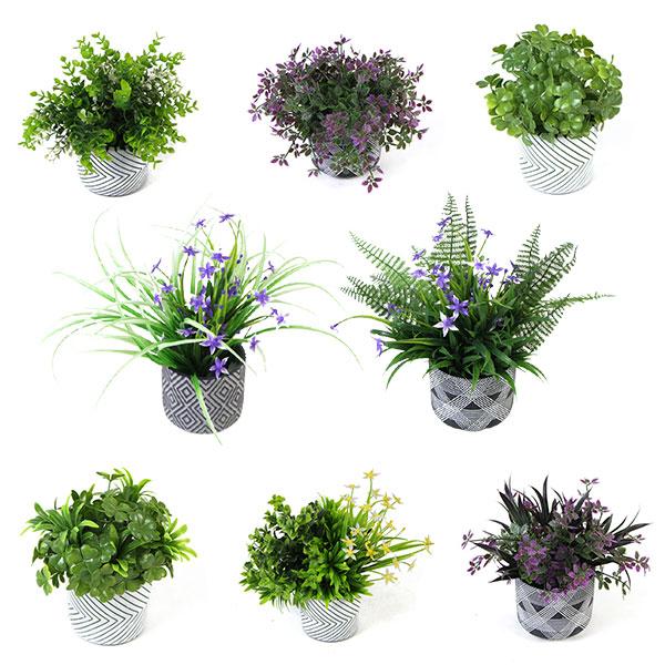 Mini-Fake-Potted-Plants