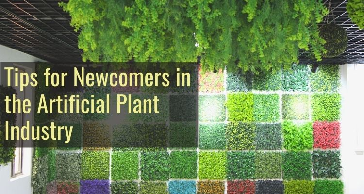 Tips for Newcomers in the Artificial Plant Industry