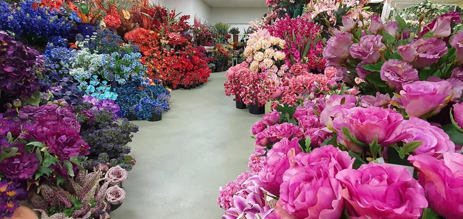 artificial-flower-showroom-sunwing