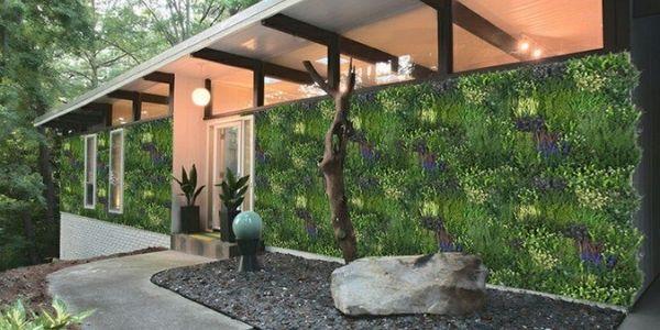 artificial green wall panel H021