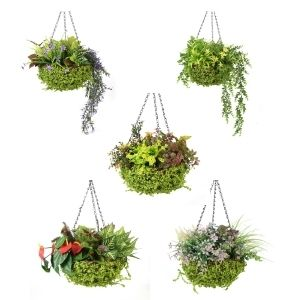 artificial hanging baskets series