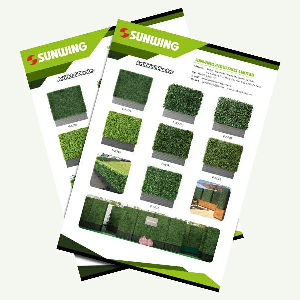 artificial hedges planters manufacturer