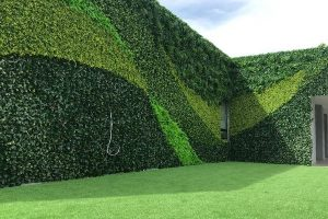 artificial hedging fence supplier