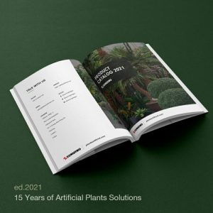 artificial plants business supply catalog China