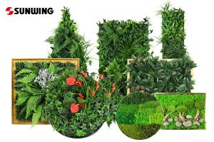 artificial plants frames supplier in China