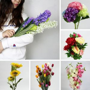 artificial silk flowers for indoors