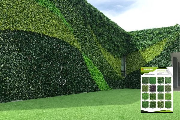 artificial wall hedges supplier
