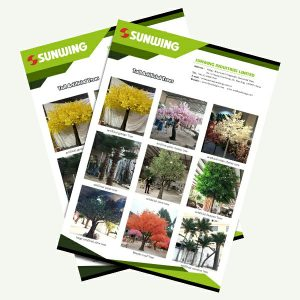 big artificial trees manufacturer