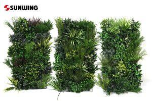 commercial grade artificial vertical garden for business supplier