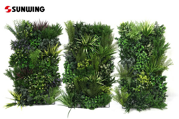 commercial grade artificial vertical garden for business supplier
