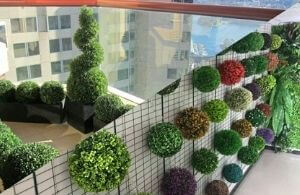 custom artificial topiary plants