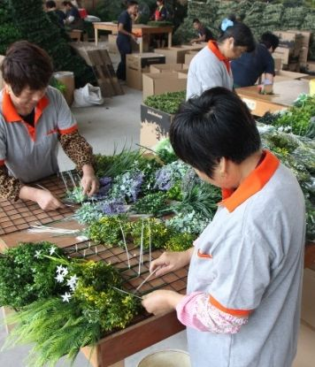custom manufacturing artificial plants