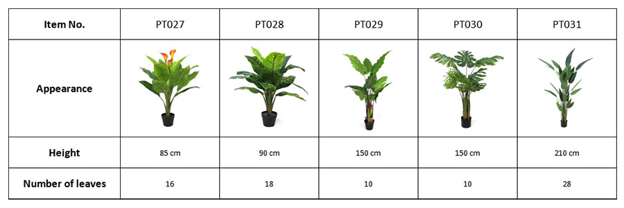 details-of-fake-plants-in-pot