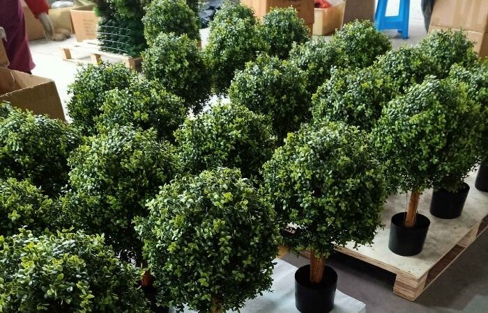 factory direct artificial topiary trees