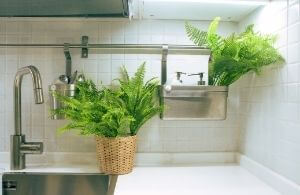 indoor artificial leaves for decor