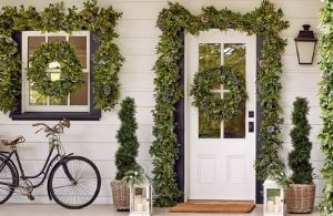 wholesale faux wreaths and garlands
