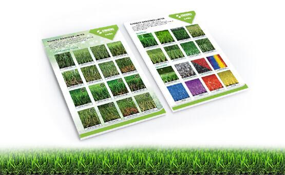 Sunwing artificial grass manufacturer brochure